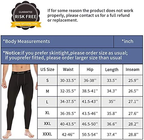 Runhit Compression Pants Men(2 Pack),Spandex Athletic Leggings with Pockets Running Workout Tights Shorts Base Layer 8