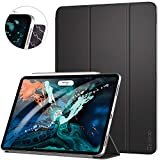 Ztotop Case for iPad Pro 12.9 Inch 2018, Strong Magnetic Ultra Slim Minimalist Smart Case, Trifold Stand Cover with Auto Sleep/Wake for iPad Pro 12.9 Inch 2018 Release (3rd Gen), Black