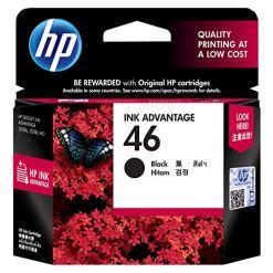 HP 46 Ink Cartridge (Black) 9