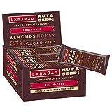 Larabar Crunchy Nut & Seed Gluten Free Bar, Dark Chocolate Almond, 1.24 oz Bars (15 Count)