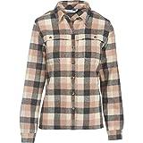 Woolrich Women's Wool Buffalo Stag Shirt, Warm Taupe, Medium
