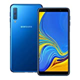 Samsung Galaxy A7 (2018) (SM-A750GN/DS) 128GB Blue, Dual SIM, 6.0-inches, 4GB RAM, GSM Unlocked International Model, No Warranty