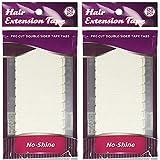 Walker Tape No Shine Bonding Double Sided, 4 cm x 0.8 cm, 120 Piece (2 Pack)