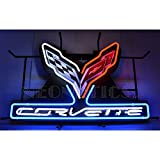 Neonetics Corvette C7 Stingray Neon Sign with Backing