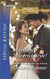 Marriage, Maverick Style! (Montana Mavericks: The Baby Bonanza)