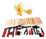 PowerTRC Kids DIY Workshop Kit with Faux Wood & Tools