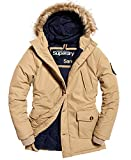Product review for Superdry Mens Faux Fur Trimmed Everest Coat Sand