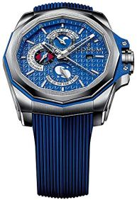 Corum Admiral's Cup Ac-One 45 Tides 277.101.04/F373 AB12 45mm Automatic Titanium Case Blue Rubber Anti-Reflective Sapphire Men's Watch
