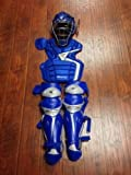 Easton Mako baseball catchers equipment gear NEW Intermediate Ages 13-15 (Royal Blue)