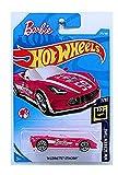 Hot Wheels 2018 Basic Die-Cast Hw Screen Time - '14 Corvette Stingray Convertible (Pink/White - Barbie Car)