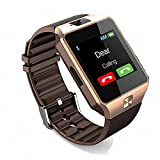Like Star DZ09-GOLD 0087 for Vivo 4G Smart Watch with Camera, Memory Card and SIM Card Support and Fitness Tracker Smartwatch (Gold)