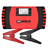 GOOLOO Upgraded Car Jump Starter 1000A Peak 18000mAh with USB Quick Charge (Up to 7.0L Gas or 5.5L Diesel Engine) SuperSafe 12V Auto Battery Booster Portable Power Pack Built-in Smart Protection