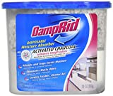 DampRid Moisture Absorber with Activated Charcoal, 18oz (3 Pack)