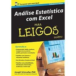 Analise Estatistica Com Excel Para Leigos