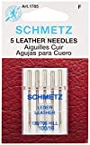 Euro-Notions Schmetz Leather Machine Needles, Size 16/100 5/Pkg