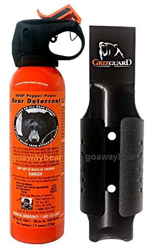 Udap Bear Spray Safety Orange with Griz...