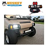 Huskey Club Car LED Light Kit Adjustable LED Headlights LED Taillights DS Golf Cart 93+