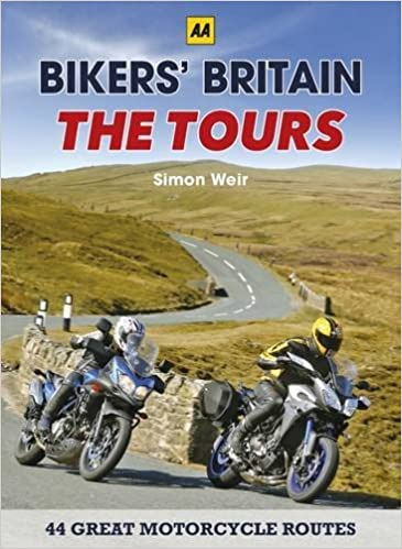 Bikers Britain Great Motorbike Rides Aa The Tours Co Uk Simon Weir Publishing Books