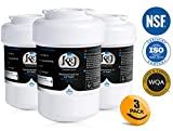 GE MWF Water Filter Compatible Replacements - For GE Smartwater Water Filter MWF, NSF 42 certified (3 Pack)