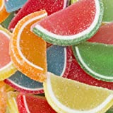 Assorted Fruit Jell Slices 1LB Bag
