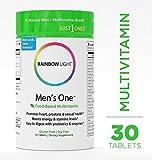 Rainbow Light Men's One Non-GMO Project Verified Multivitamin Plus Superfoods & Probiotics Tablets, 150 Count