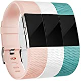 Maledan Replacement Bands for Fitbit Charge 2, Small