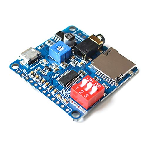Ants-Store - New Voice Playback Module Board MP3 Music Player SD/TF Card For Arduino