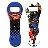 Superman Meteor Dogbone Iconic Stainless Steel Super Hero Bottle Opener