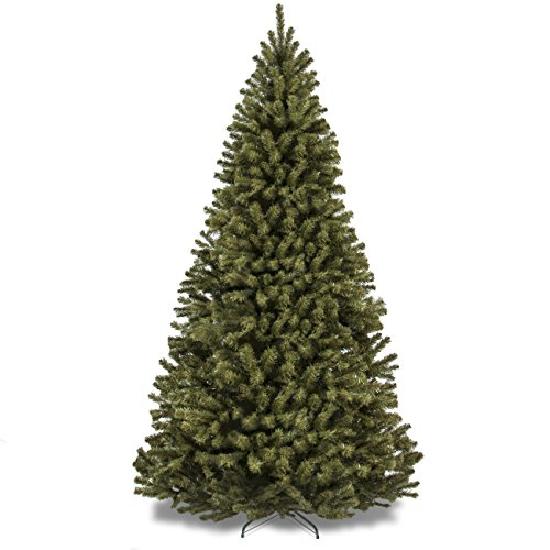 Best Choice Products 9ft Premium Spruce Hinged Artificial Christmas Tree w/Easy Assembly, Foldable Stand - Green