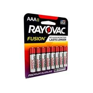 RAYOVAC AAA FUSION Premium Alkaline Batteries