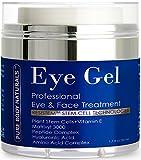 Pure Body Naturals Eye Gel Treatment, for Dark Circles, 1.7 Fluid Ounce