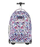 JanSport Driver 8 Wheeled Backpack - 15-inch Laptop Bag, Petal to The Metal