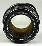 Pentax 50mm f/1.4 Super-Takumar Screw Mount Lens for Pentax Spotmatic Camera
