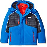 Weatherproof Big 32 Degrees Boys' Outerwear Jacket (More Styles Available), Basic Blue, 10/12