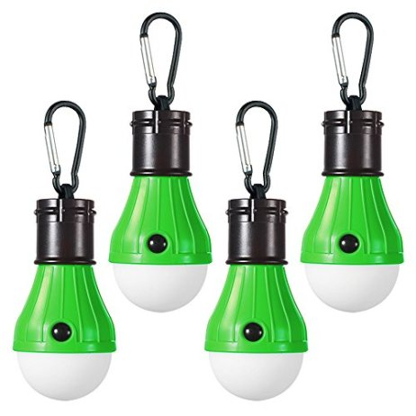 Doukey-LED-Camping-Light-4-Pack-Portable-LED-Tent-Lantern-4-Modes-for-Backpacking-Camping-Hiking-Fishing-Emergency-Light-Battery-Powered-Lamp-for-Outdoor-and-Indoor