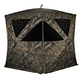 Rhino Blinds R500-MOC 4+ Person Hunting Ground Blind, Mossy Oak Breakup Country