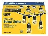 Feit Electric 48ft / 14.6m Outdoor String Lights(48 Feet)