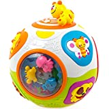 Toysery Caterpillar Move and Crawl Ball Toys for Kids | Educational Toy with Lights and Music | Joyful Learning Ball Toys for Baby 6 Months | Endless Fun for Children