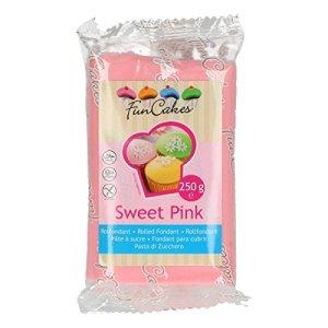 FunCakes Pasta Di Zucchero Rosa Chiaro - confezione da 250g