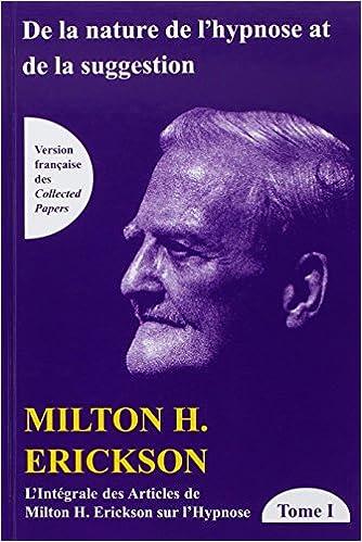Intégral Des Articles De Milton Erickson