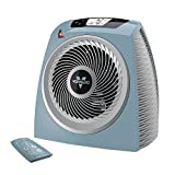 Vornado TAVH10 Vortex Heater with Auto Climate Control, 2 Heat Settings, Fan Only Option, 12-Hour Timer, Touch-Sensitive Digital Display, Remote, Advanced Safety Features, Stormy Blue