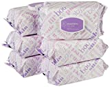Amazon Elements Baby Wipes, Sensitive, 480 Count, Flip-Top Packs