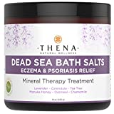 Organic Eczema Soak Bath Therapy for Babies Kids Adults, 100% Natural Itch Relief Soothe Calm Relieve Dry or Itchy Skin, Oatmeal Dead Sea Salt Lavender Essential Oil Calendula Chamomile