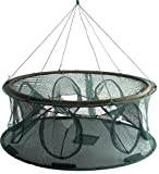 STS SUPPLIES Collapsible Crawfish Trap PortableFish FishingCastingNet ShrimpCrab Folding Freshwater Foldable Cage Catch Best Small Round Saltwater Basket Cage Green Wild Lightweight & eBook