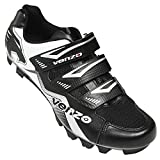 Venzo Mountain Bike Bicycle Cycling Compatible with Shimano SPD Shoes Black 44