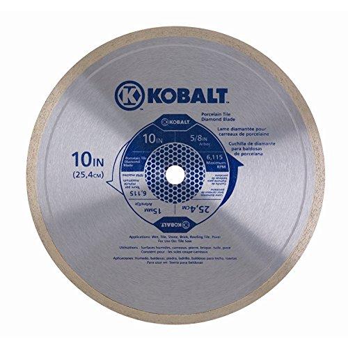 Kobalt 10' Continuous Rim Porcelain Diamond Blade 0196039