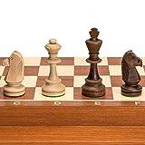 Chess Set - Tournament Staunton Complete No. 6 Board Game - Hand Made European 21