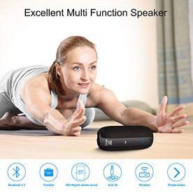 Waterproof-Bluetooth-Speaker-SCIJOY-Portable-Wireless-Speaker-20W-Loud-360-Stereo-Sound-Rich-Bass-12-Hour-Playtime-Weaving-Shell-Lanyard-IPX7-HomeOutdoor-Speaker-for-PartyShowerTravelBeach