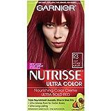 Garnier Nutrisse Ultra Color Nourishing Hair Color Creme, R3 Light Intense Auburn  (Packaging May Vary)