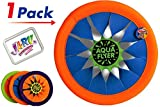 JA-RU Flying Disc Frisbee (Pack of 1) Soft Flying Water Disc Hours of Fun | Item #1031-1